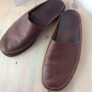 Cole Haan men's leather mules
